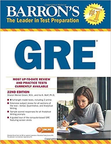 Gre Study Book >> 10 Best Gre Prep Books For 2019 Cracking Gre Is A Piece