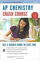 best ap chemistry review book 2018