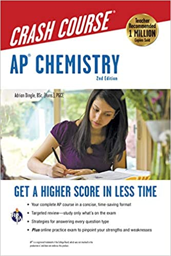 AP Chemistry Crash Course, 2nd Ed., Book + Online