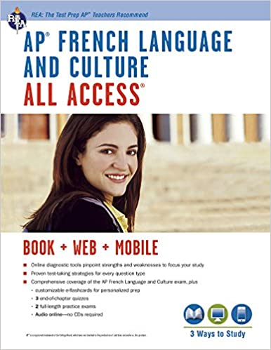 AP® French Language & Culture All Access w/Audio: Book + Online + Mobile
