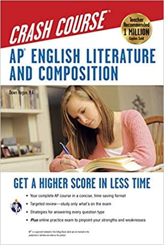 AP English Literature & Composition Crash Course Book + Online