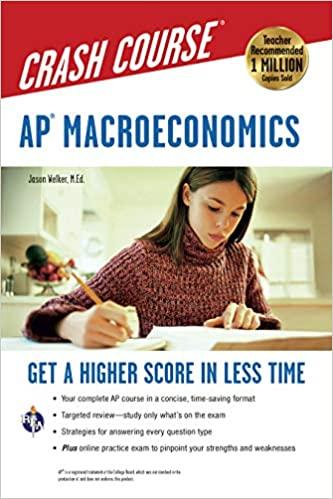 AP Macroeconomics Crash Course Book – Complete Review