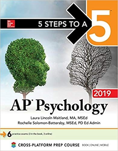 5 Steps to a 5 AP Psychology 2019