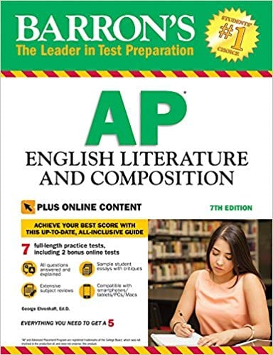 Barrons AP English Literature And Composition
