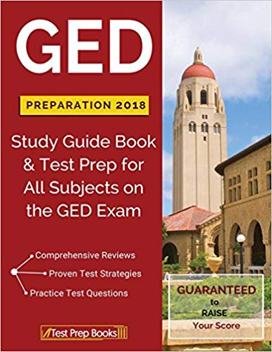 GED Preparation 2018 Study Guide Book