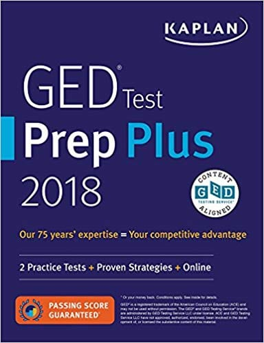 GED Test Prep Plus 2018