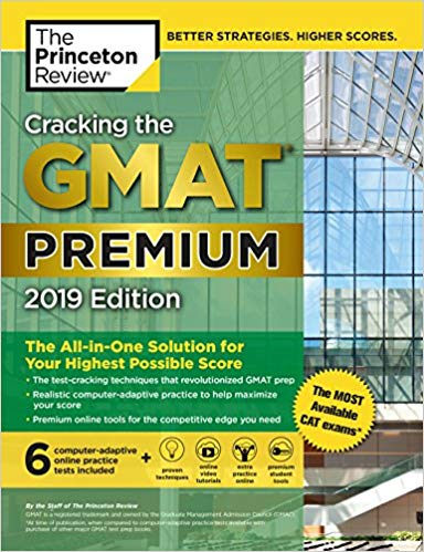Cracking GMAT Premium 2019