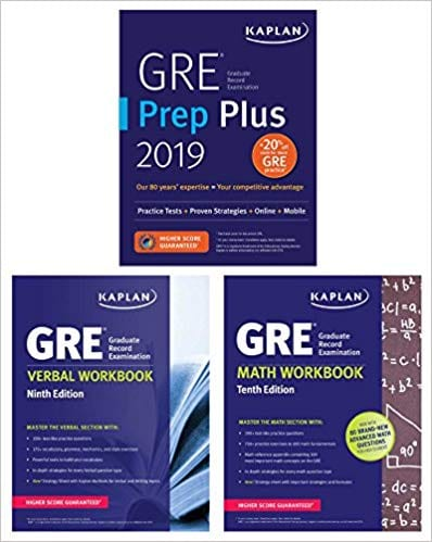 GRE Complete: Self-Study guide for GRE by Kaplan