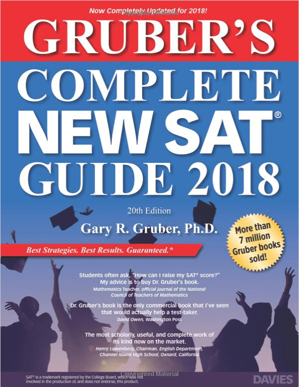 Grubers Complete New SAT Guide 2018
