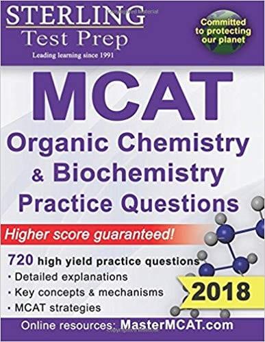 Sterling MCAT Organic Chemistry