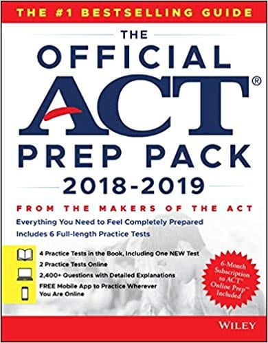 The Official ACT Prep Pack 2018-2019