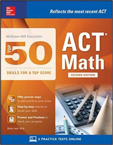 Top 50 ACT Math Skills