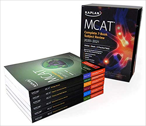 MCAT Complete 7-Book Subject Review 2020-2021: Online + Book + 3 Practice Tests (Kaplan Test Prep) 1st Edition