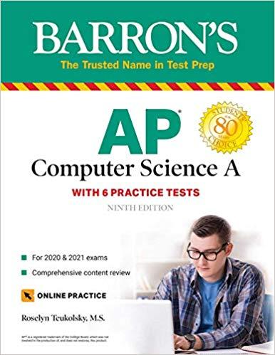 Barron's AP Computer Science A Book Reviews