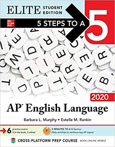5 Steps to a 5: AP English Language 2020 Elite Student edition