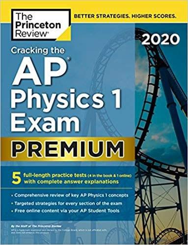 Cracking AP Physics 1 Exam Premium