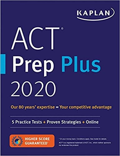 Kaplan ACT Prep Plus 2019