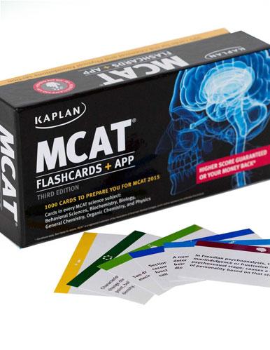 Kaplan MCAT Flashcards