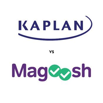 Kaplan and Magoosh Logos