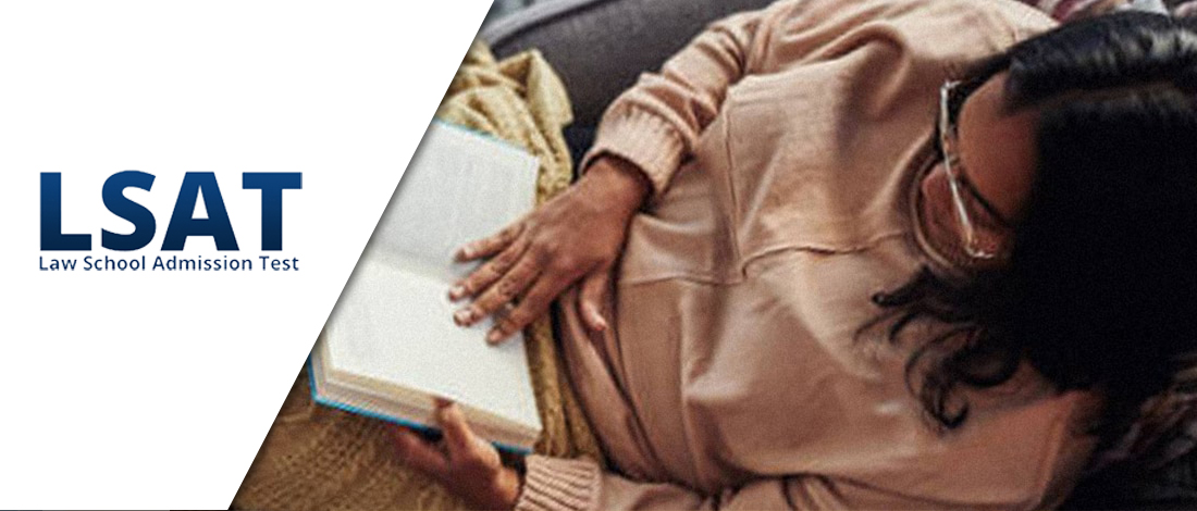 Top view photo of a woman reading a book
