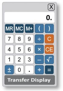 GRE On Screen calculator