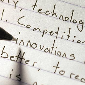 Handwritten essay